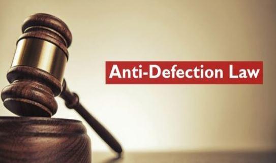 Anti defection law