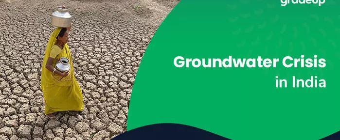 Ground water crisis