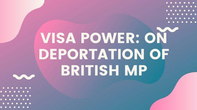 Visa power